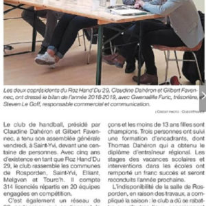 Ouest-France 10-06-2019
